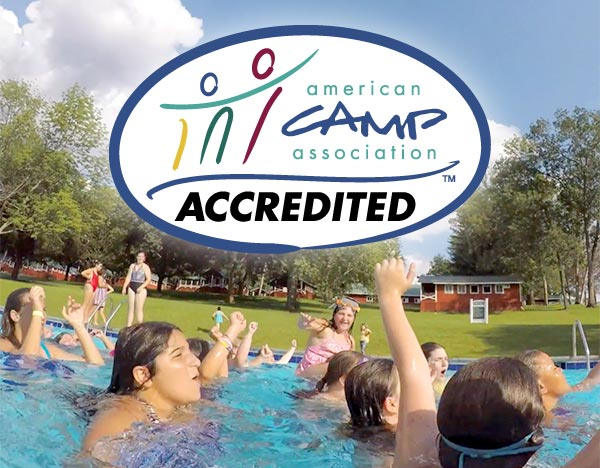 Camp Pocono Trails is accredited by the American Camp Association, a commitment to a safe and nurturing environment for children